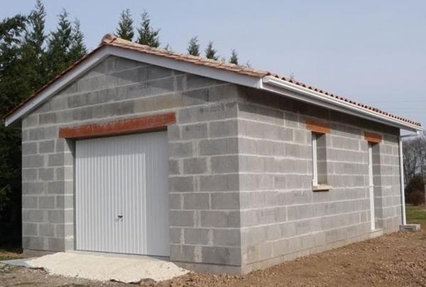 prix construction garage 20 m2