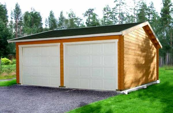 prix garage ossature bois