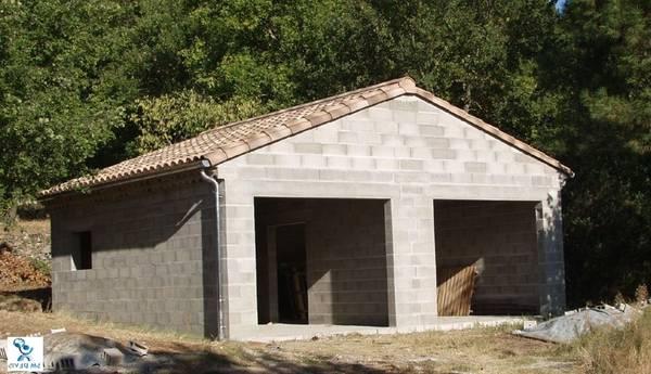 prix garage double en bois