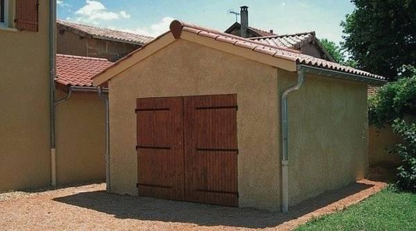 prix garage bois 40m2