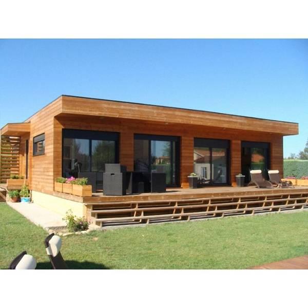 cout maison ossature bois 100m2
