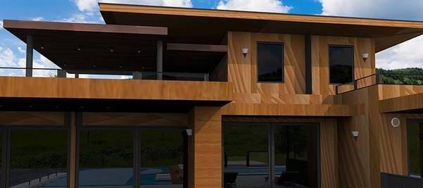 faire une extension de maison avec un toit plat