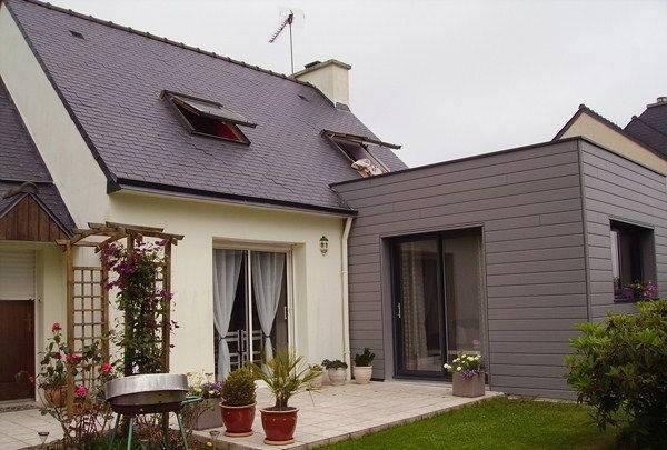 prix m2 extension maison parpaing